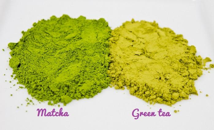 Sự khác nhau giữa bột matcha và bột trà xanh