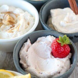 Topping Cream còn được sử dụng để làm kem tươi